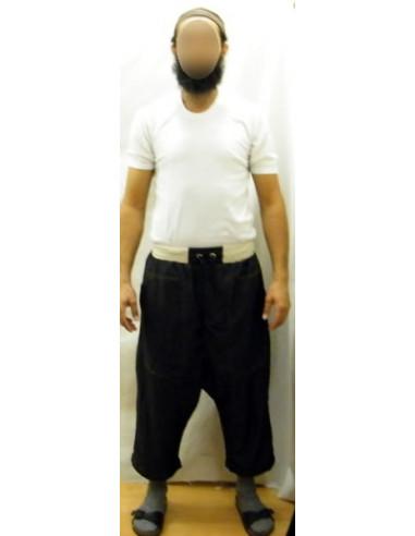 Sarwal jean avec une bande baige