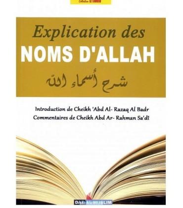 EXPLICATIONS DES NOMS