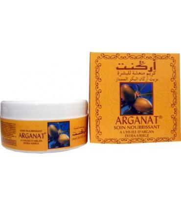 Crème Nourrissante à l'Huile d'Argan Vierge (Arganat) - 100ml
