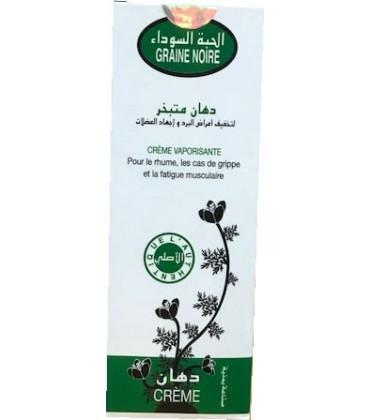Crème de graines de nigelle: rhume, douleurs musculaires et articulaires