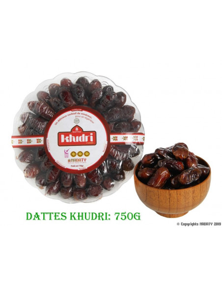 DATTES KHUDRI 750g