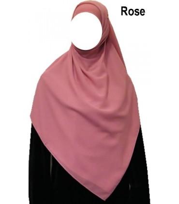 Foulard carré (Hijab) 150 X150 cm