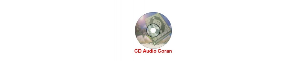 CD AUDIO Coran